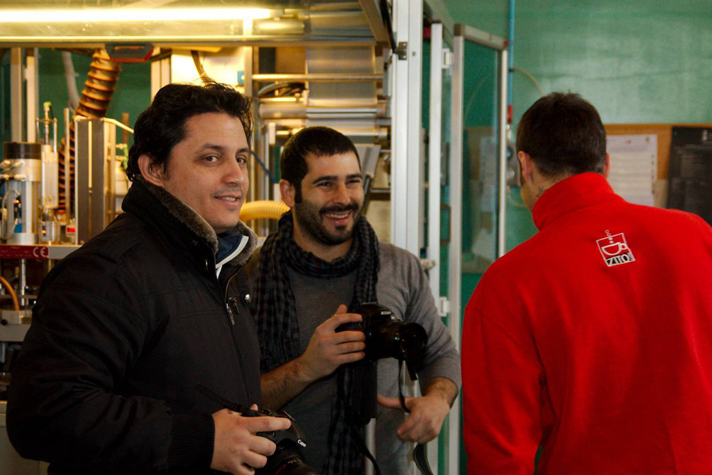 Backstage Reportage Renarossa Torrefazione