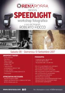 Speedlight con Roberto Fiocco @ Renarossa